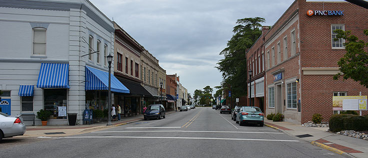 Downtown Hertford, NC